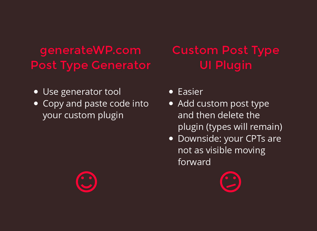 generateWP.com generateWP.com Post Type Generat...