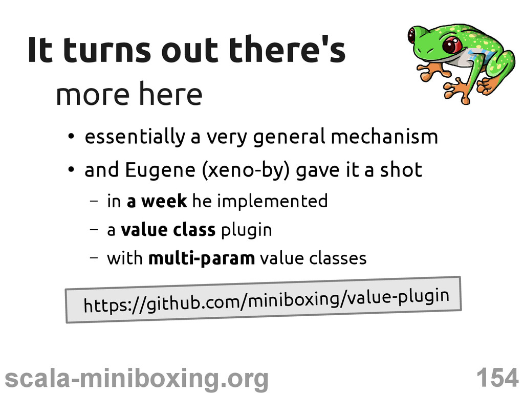 154 scala-miniboxing.org It turns out there's I...