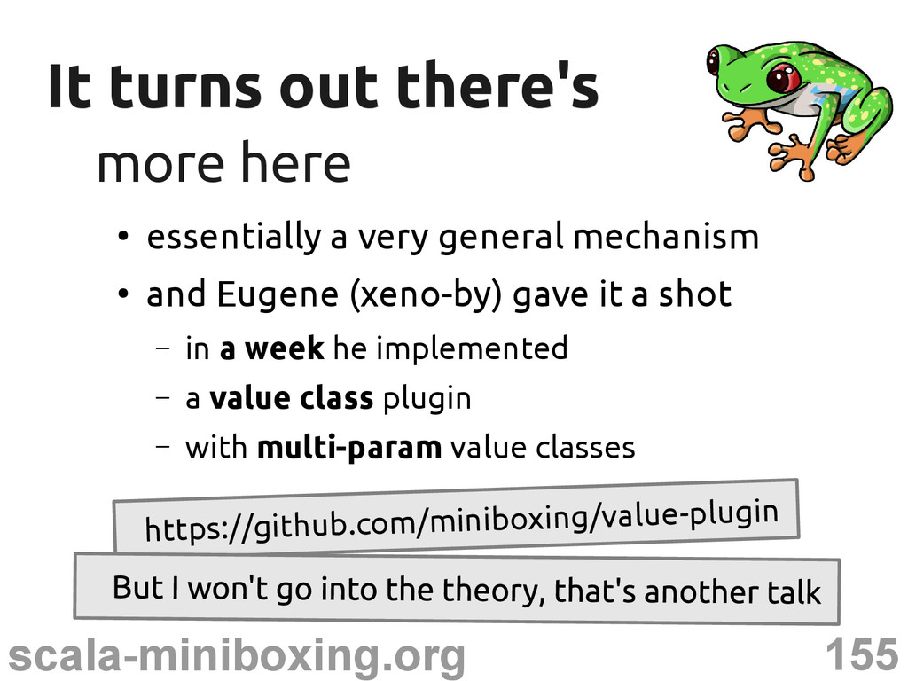 155 scala-miniboxing.org It turns out there's I...