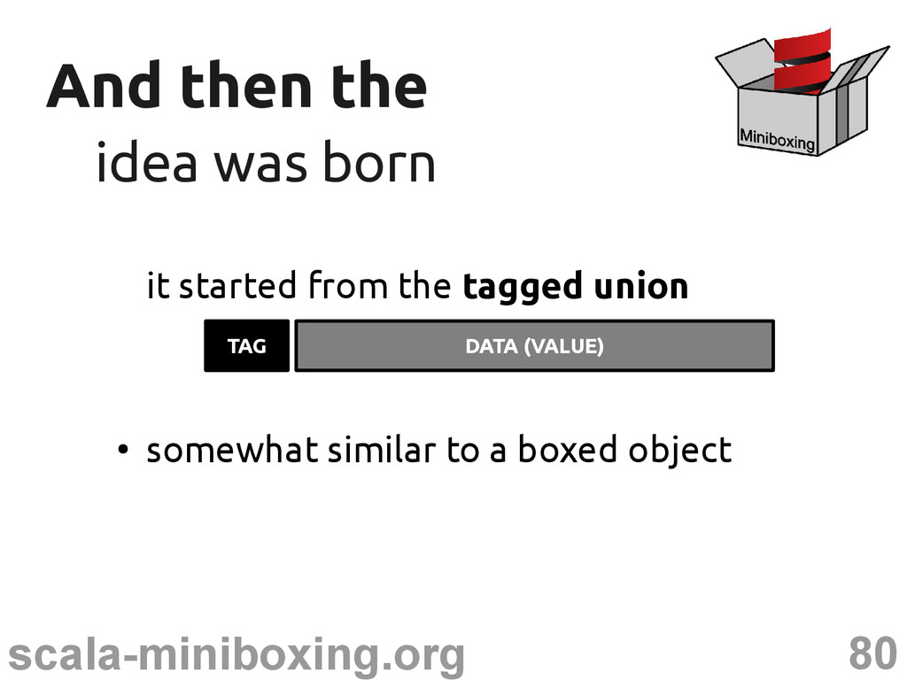 80 scala-miniboxing.org And then the And then t...
