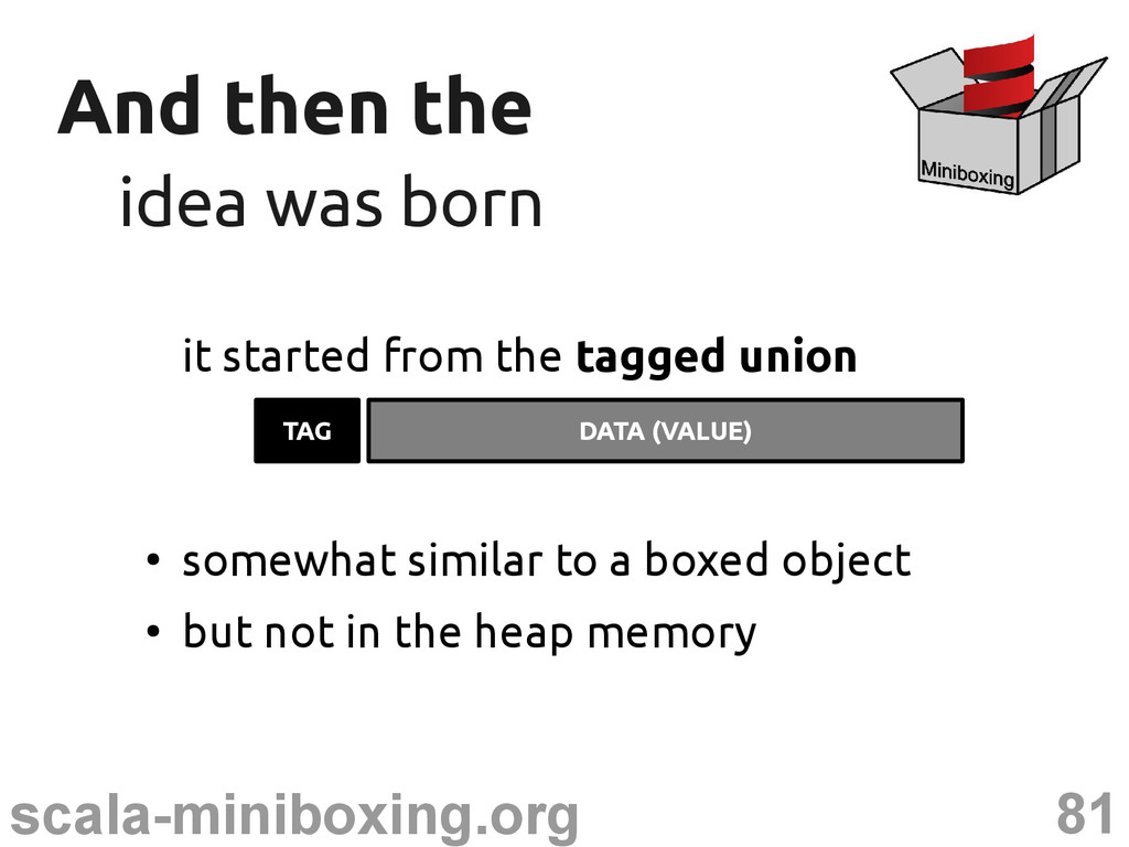81 scala-miniboxing.org And then the And then t...