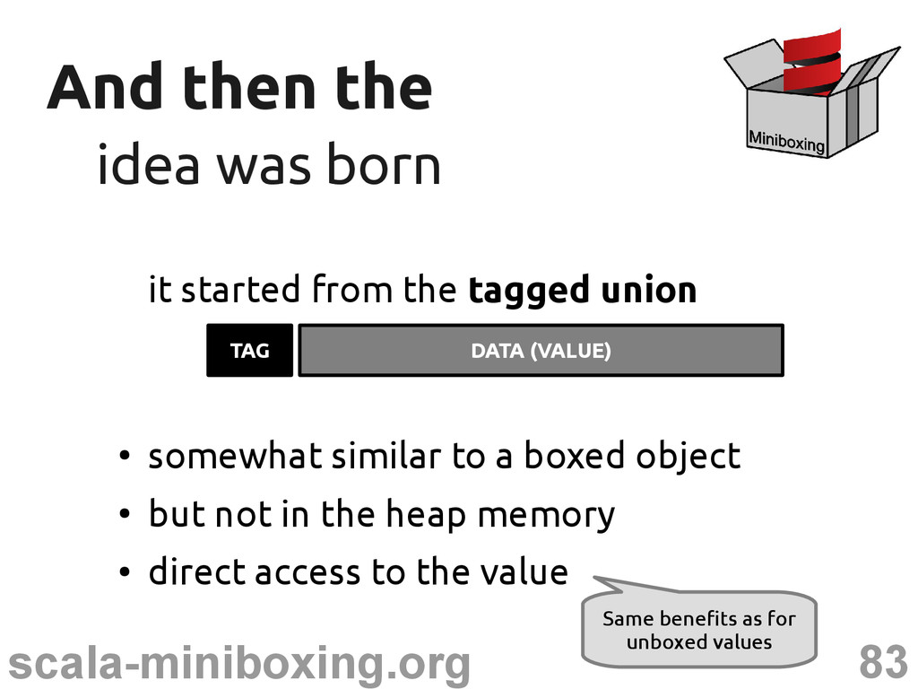 83 scala-miniboxing.org And then the And then t...