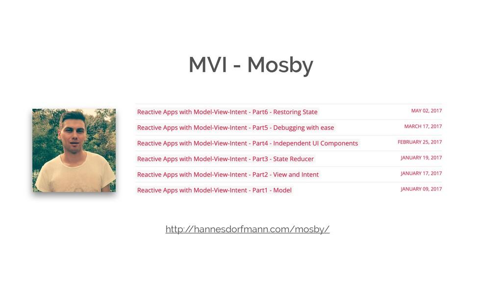 MVI - Mosby http:/ /hannesdorfmann.com/mosby/