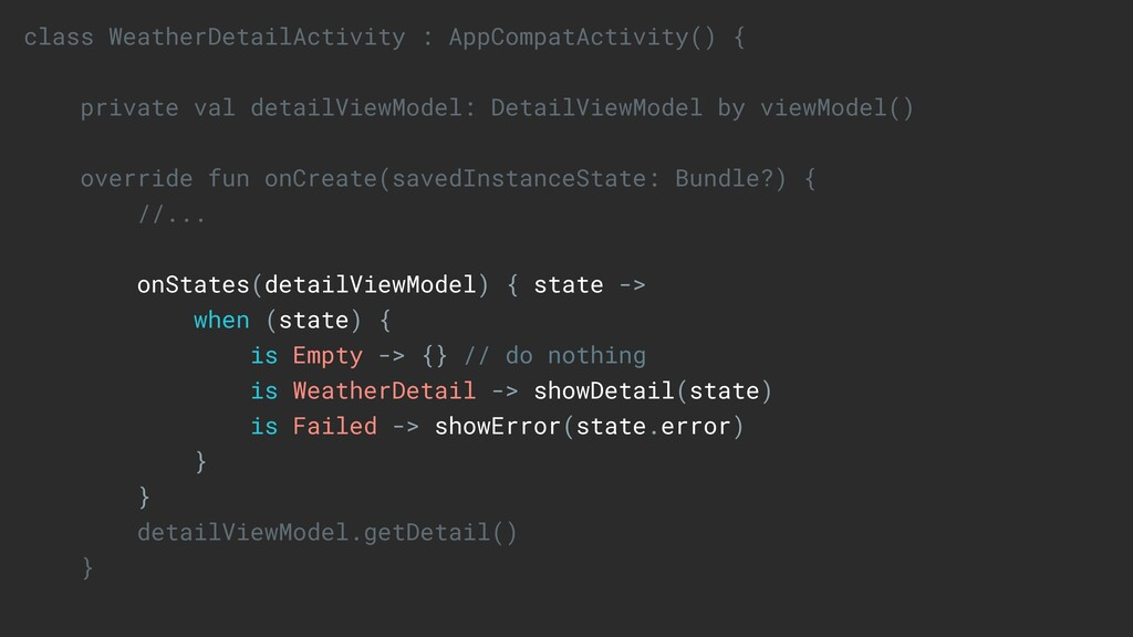 class WeatherDetailActivity : AppCompatActivity...