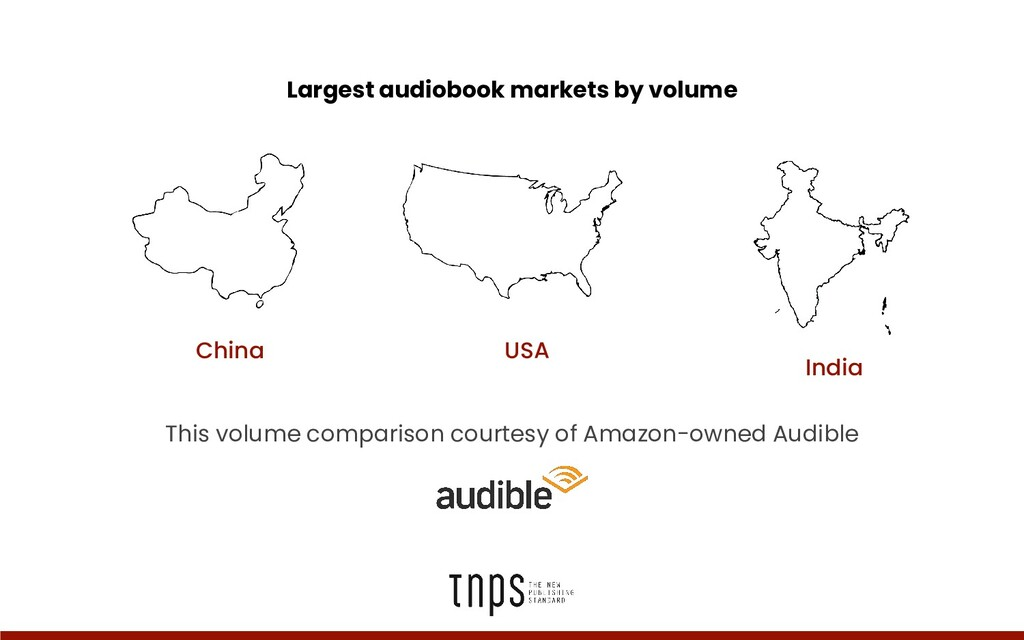 Largest audiobook markets by volume USA This vo...