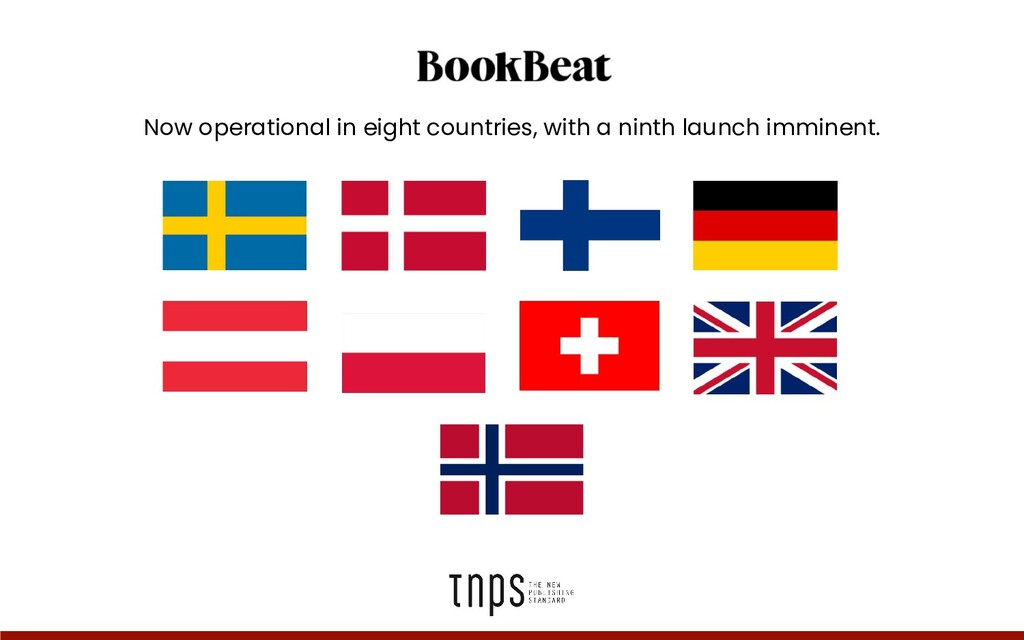 Now operational in eight countries, with a nint...