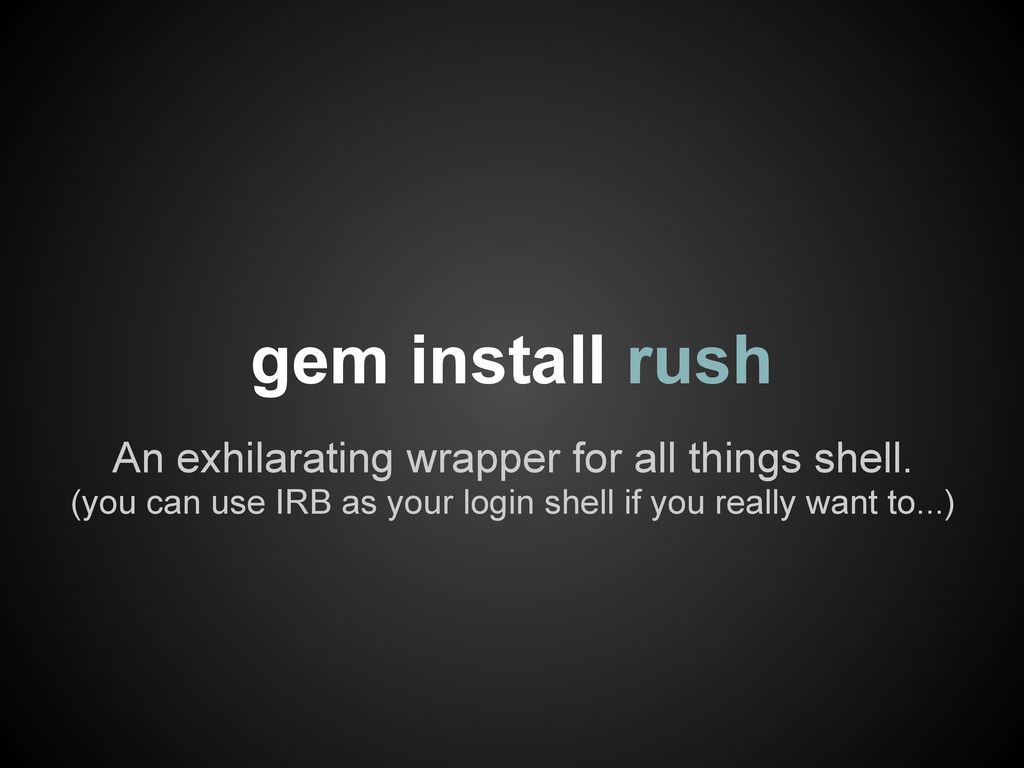 An exhilarating wrapper for all things shell. (...