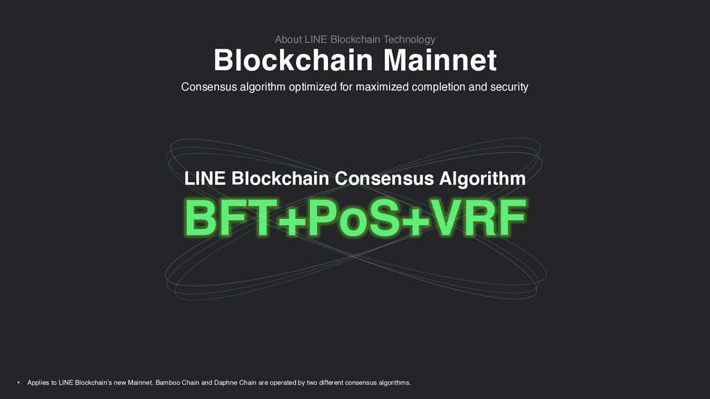 Blockchain Mainnet About LINE Blockchain Techno...
