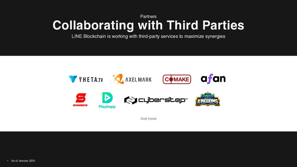 And more Collaborating with Third Parties Partn...