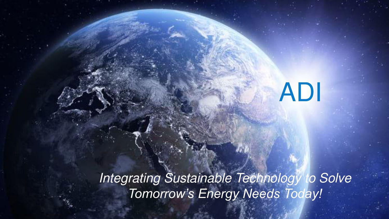 Alternative Designs Inc., (ADI) Integrating Sus...