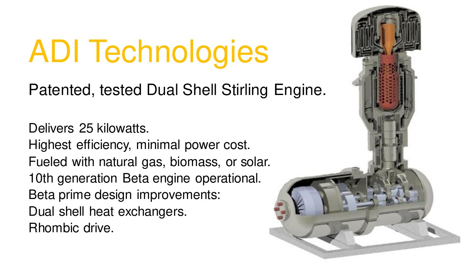 ADI Technologies Patented, tested Dual Shell St...