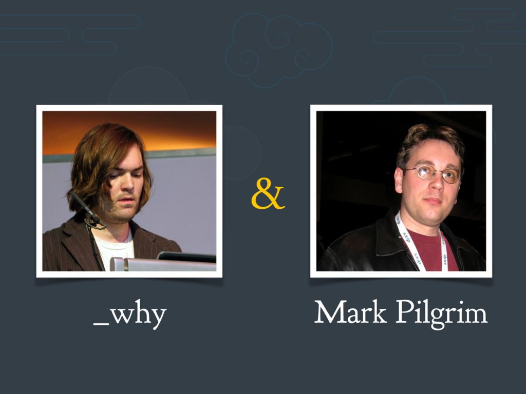 _why Mark Pilgrim &