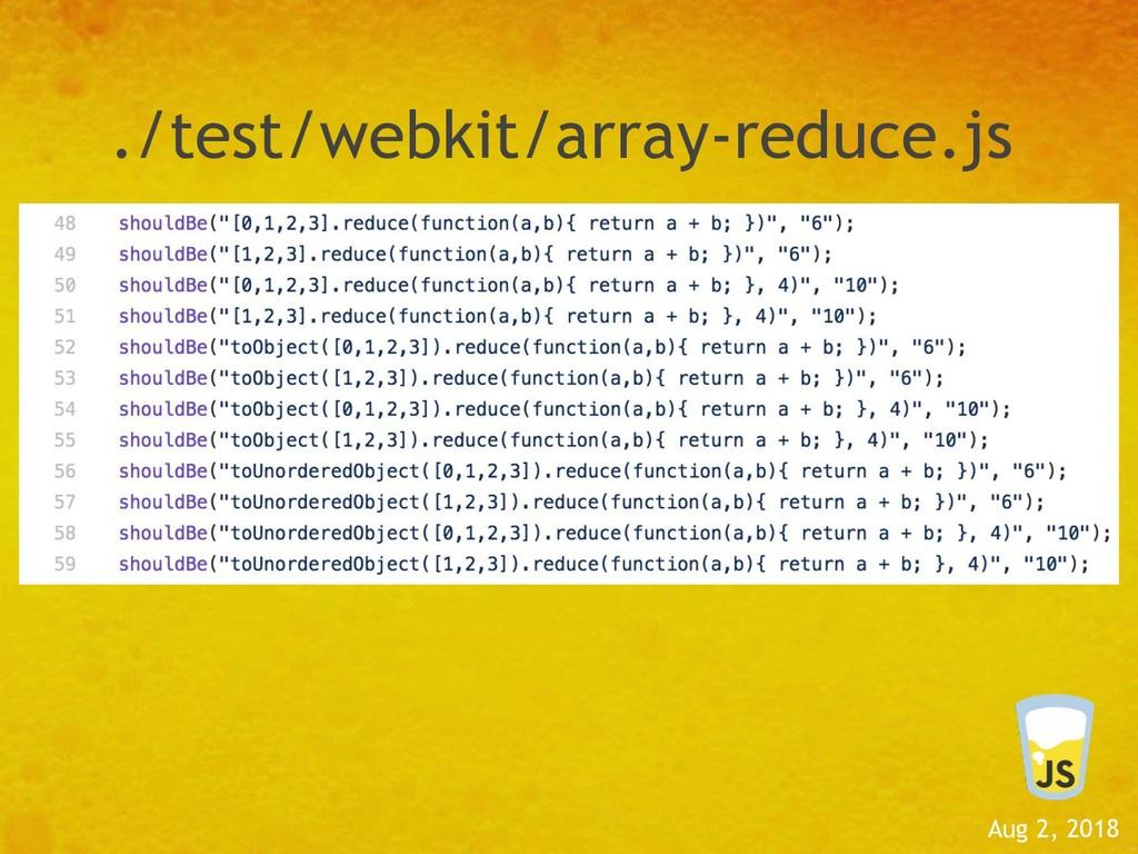 Aug 2, 2018 ./test/webkit/array-reduce.js