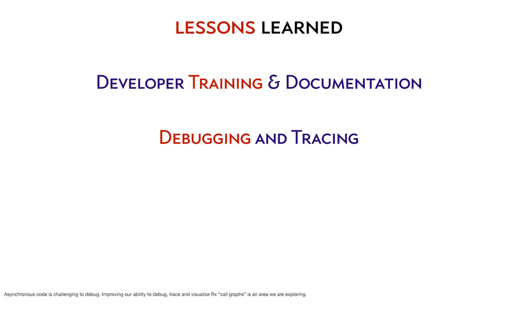 Developer Training & Documentation Debugging an...