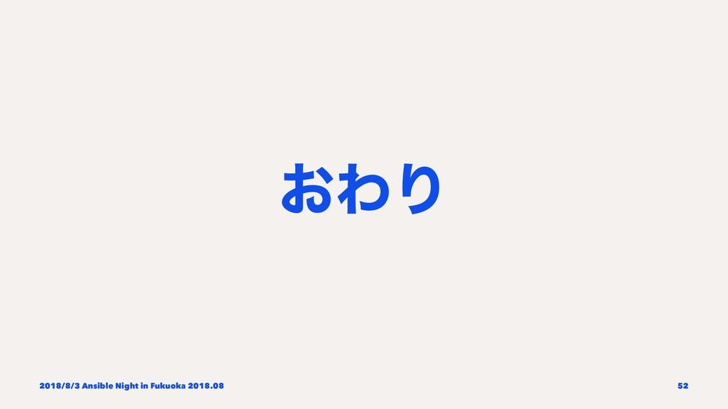 ͓ΘΓ 2018/8/3 Ansible Night in Fukuoka 2018.08 52