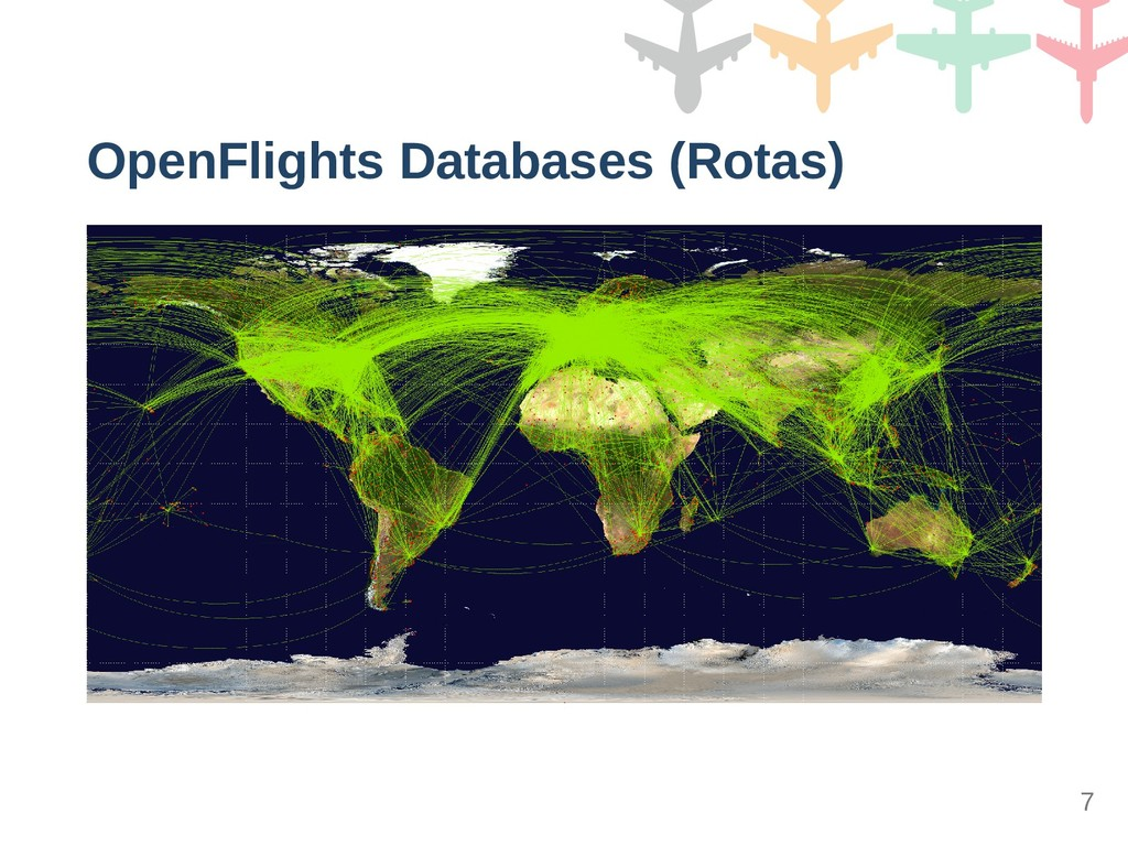 OpenFlights Databases (Rotas) 7