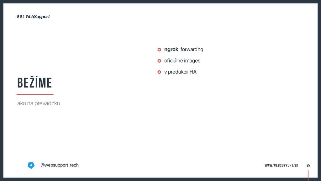 ngrok, forwardhq oficiálne images v produkcii H...