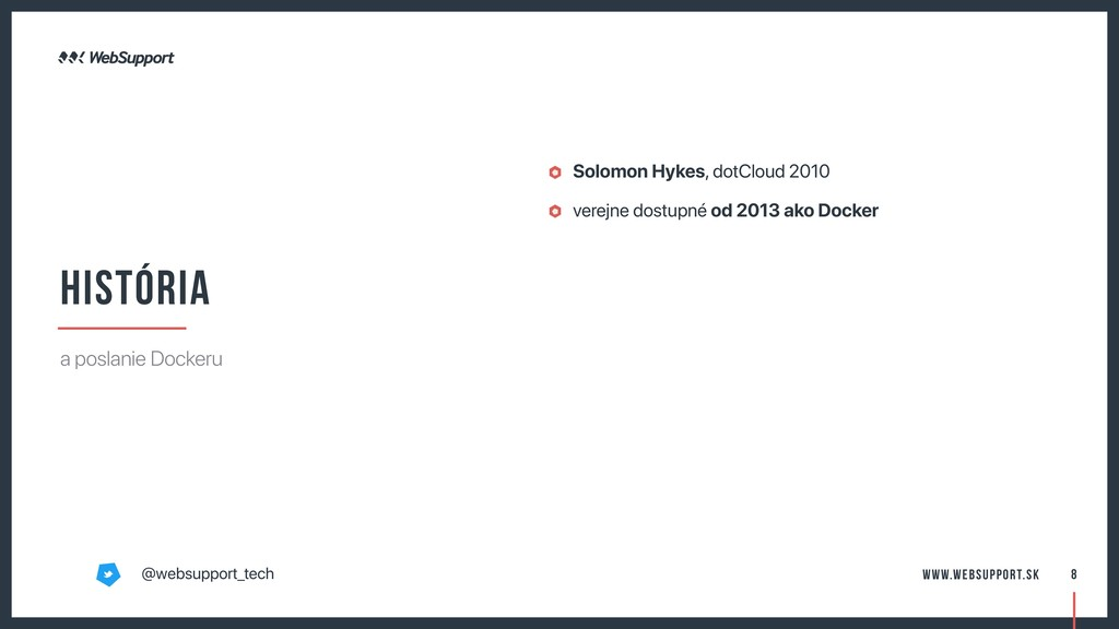 Solomon Hykes, dotCloud 2010 verejne dostupné o...