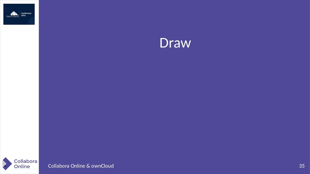 35 Collabora Online & ownCloud Draw
