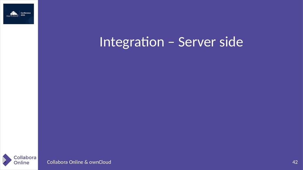 42 Collabora Online & ownCloud Integration – Se...