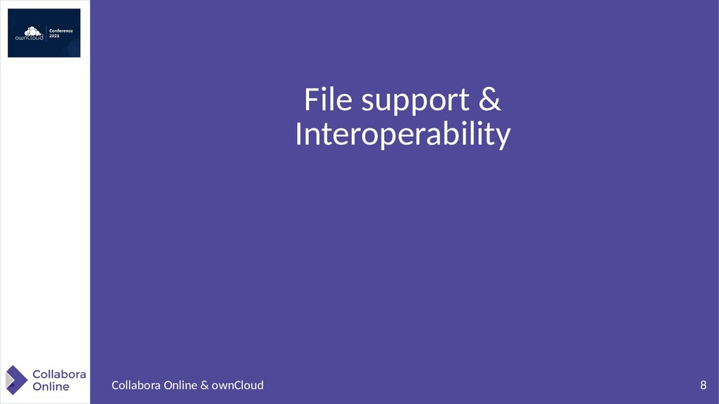 8 Collabora Online & ownCloud File support & In...