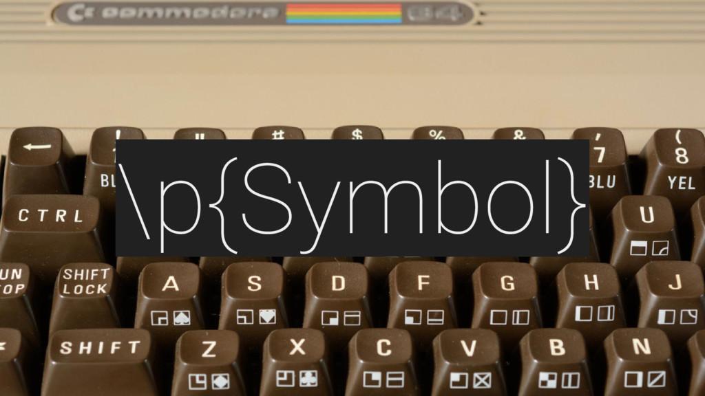 \p{Symbol}
