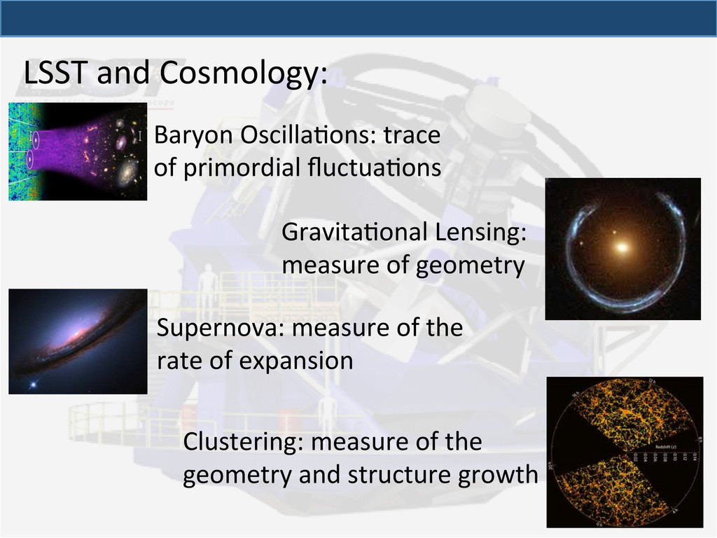 LSST and Cosmology:  Supernova: mea...