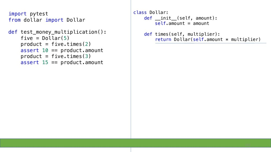122 import pytest from dollar import Dollar def...