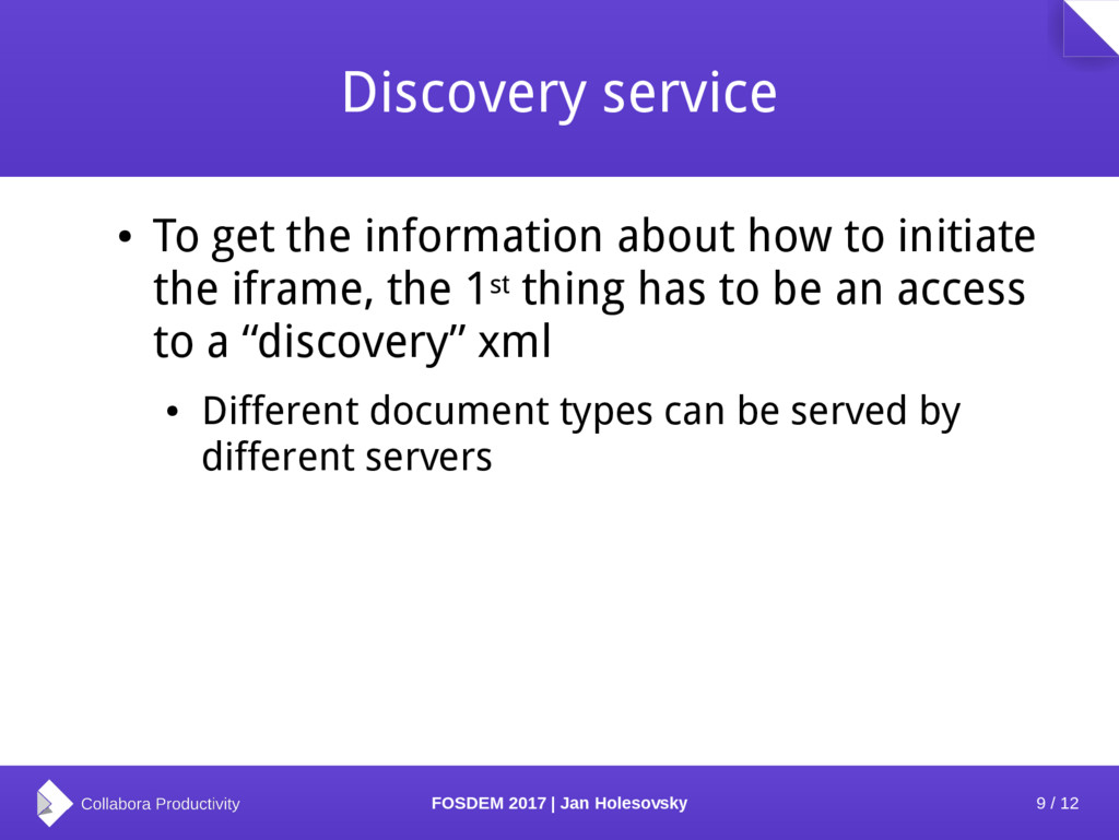 9 / 12 FOSDEM 2017 | Jan Holesovsky Discovery s...