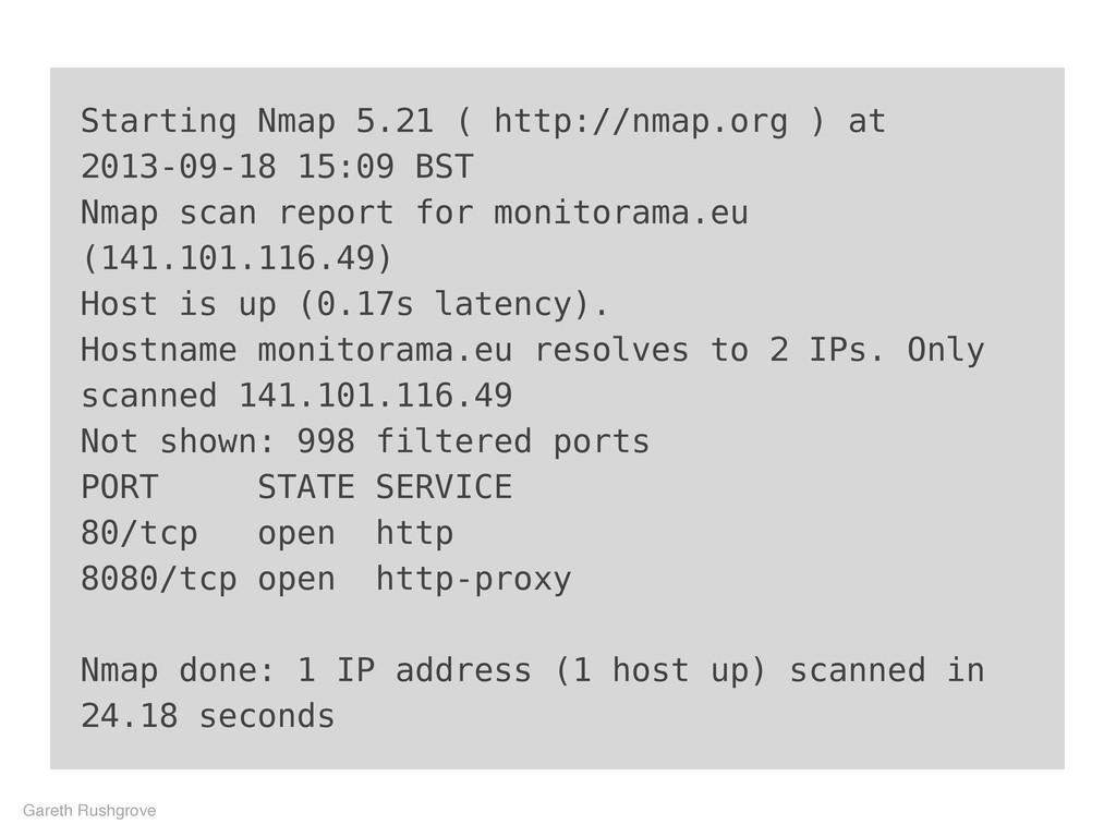 Starting Nmap 5.21 ( http://nmap.org ) at 2013-...