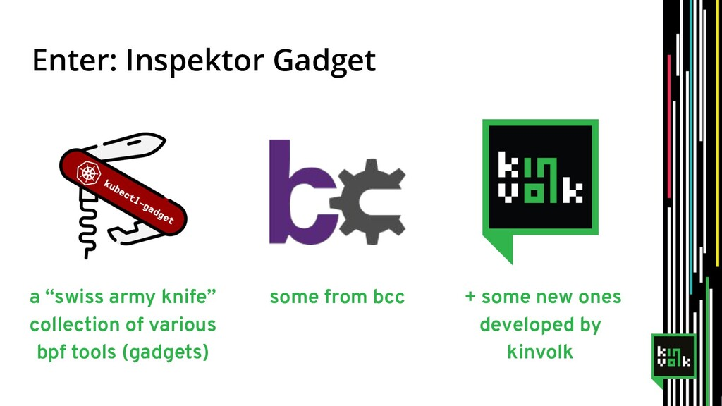"Enter: Inspektor Gadget a ""swiss army knife"" co..."