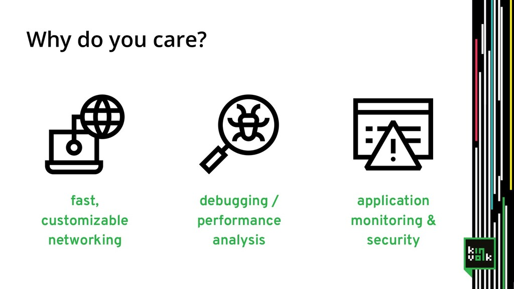 Why do you care? fast, customizable networking ...