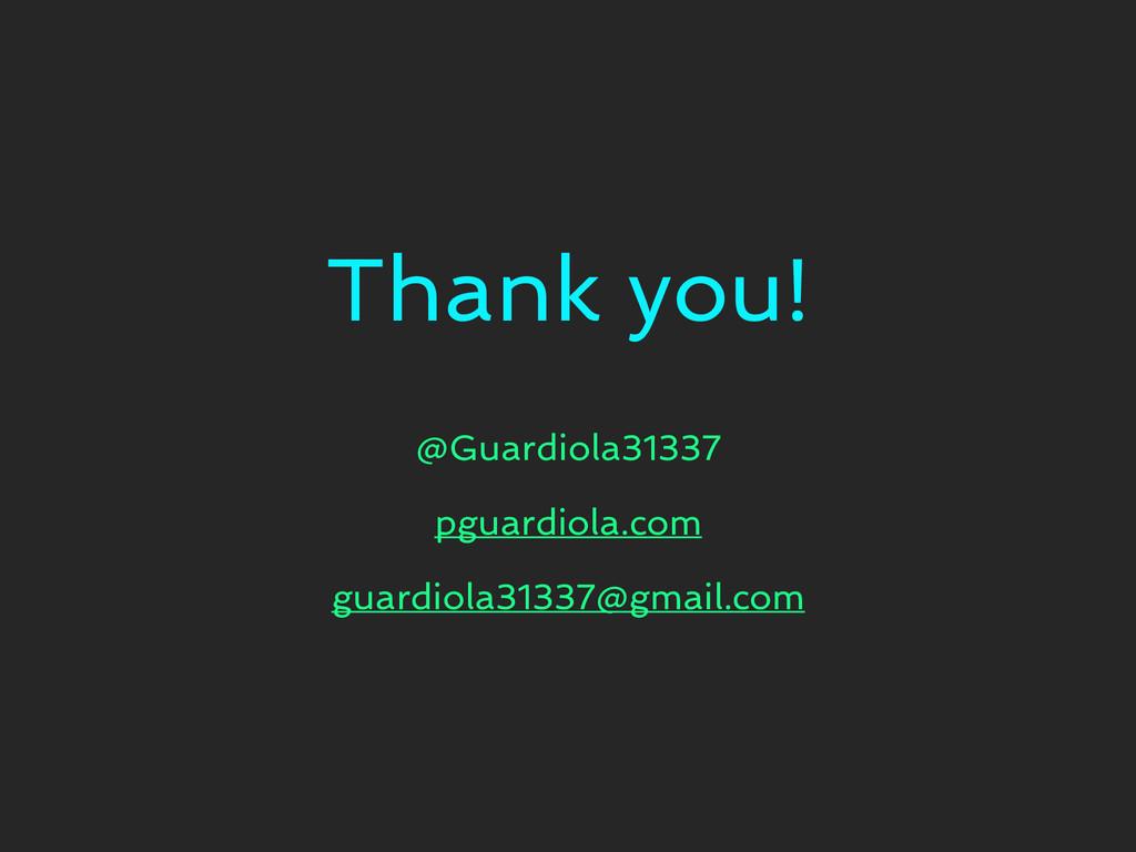 Thank you! @Guardiola31337 pguardiola.com guard...