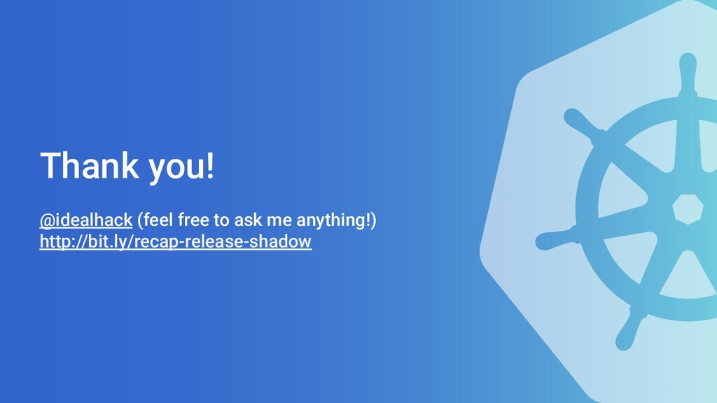 Thank you! @idealhack (feel free to ask me anyt...