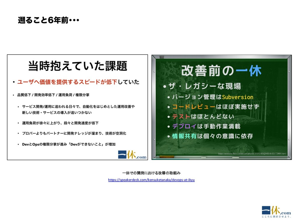 Δ͜ͱલŋŋŋ 一休での開発における改善の取組み https://speakerdeck...