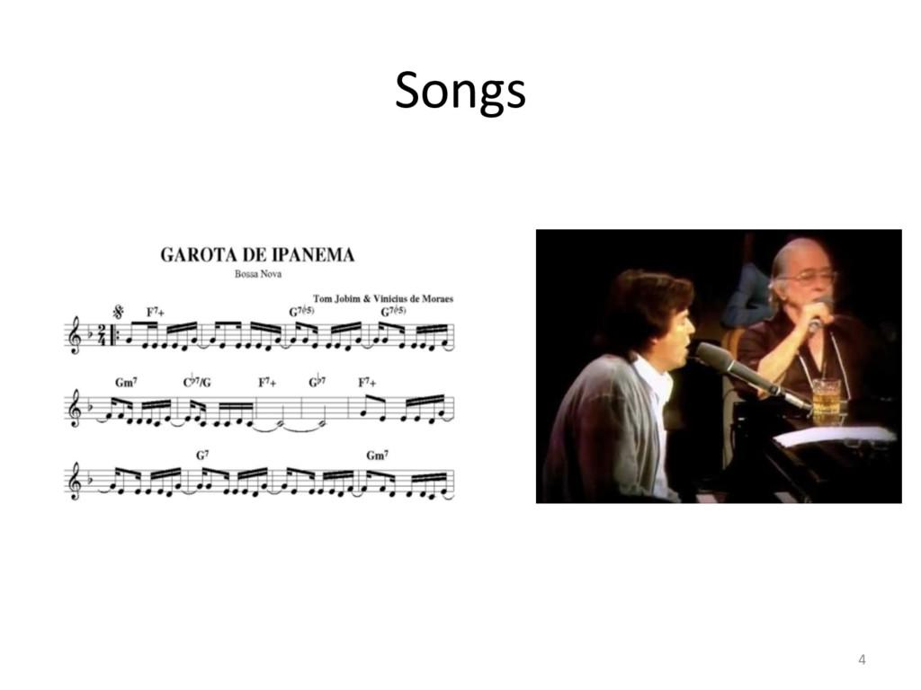 Songs  4