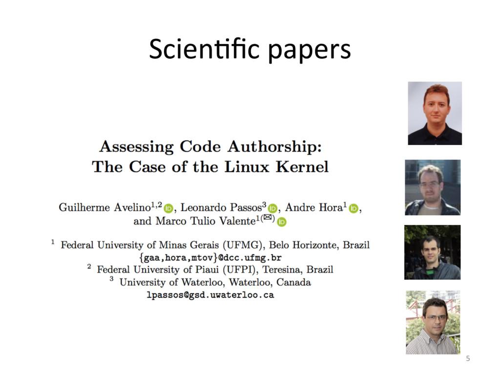 ScienOfic papers  5