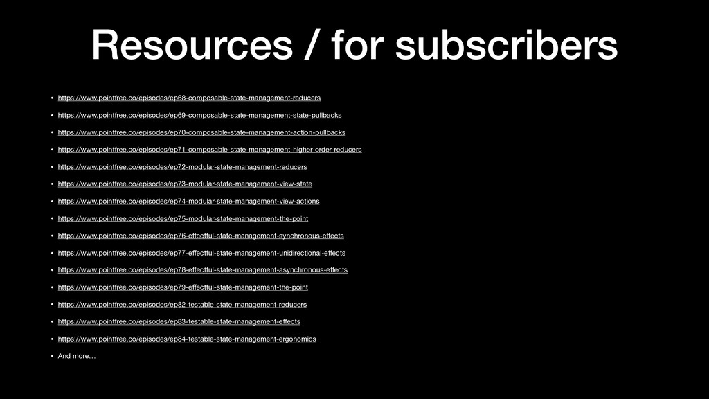 Resources / for subscribers • https://www.point...