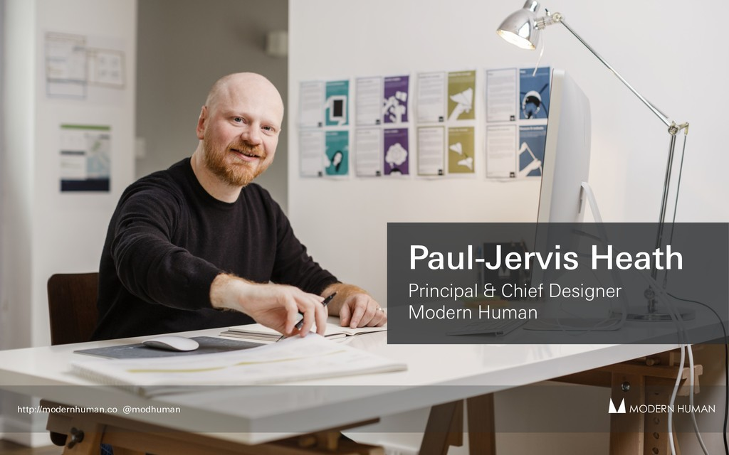 Paul-Jervis Heath Principal & Chief Designer Mo...