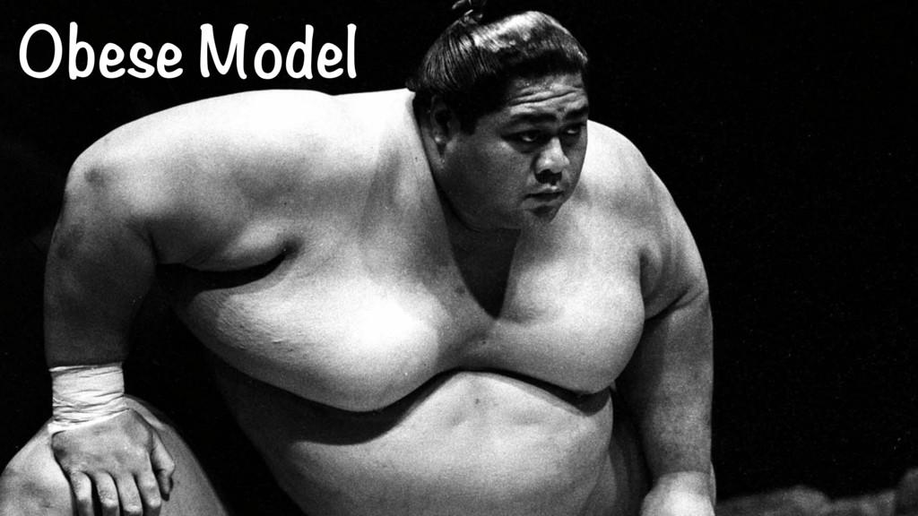 Obese Model