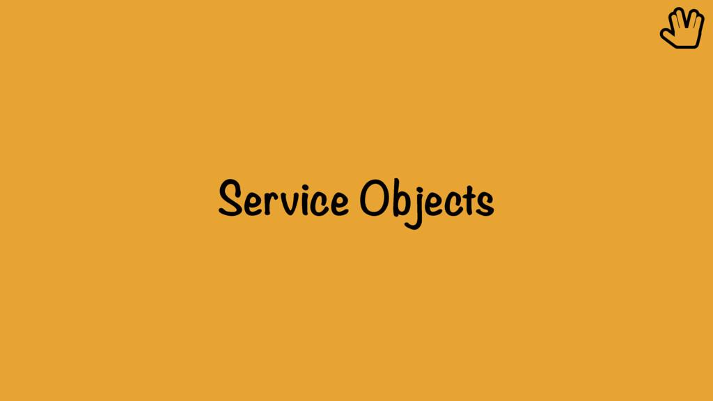 Service Objects ȴ