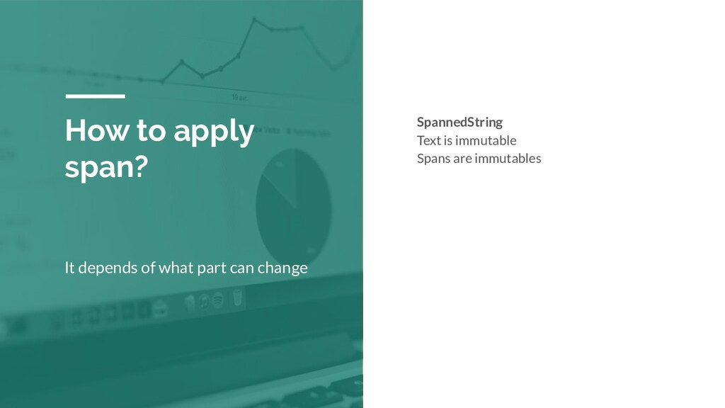 How to apply span? It depends of what part can ...