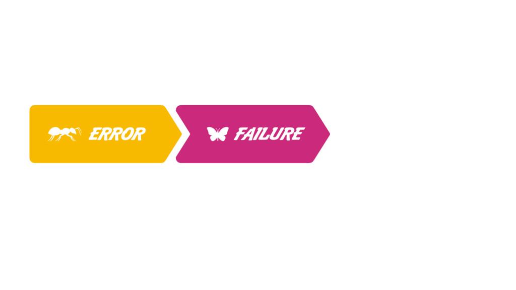 ERROR FAILURE