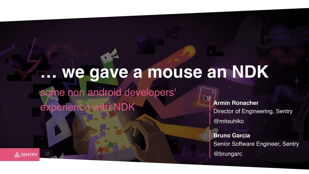 … we gave a mouse an NDK some non android devel...