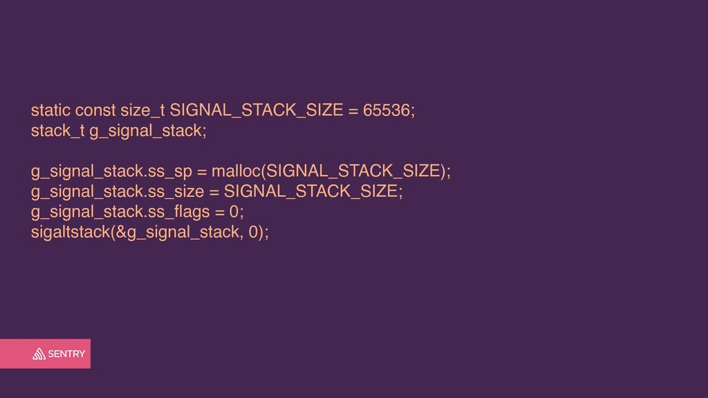 static const size_t SIGNAL_STACK_SIZE = 65536; ...