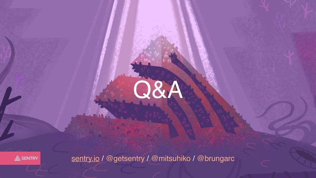 sentry.io / @getsentry / @mitsuhiko / @brungarc...