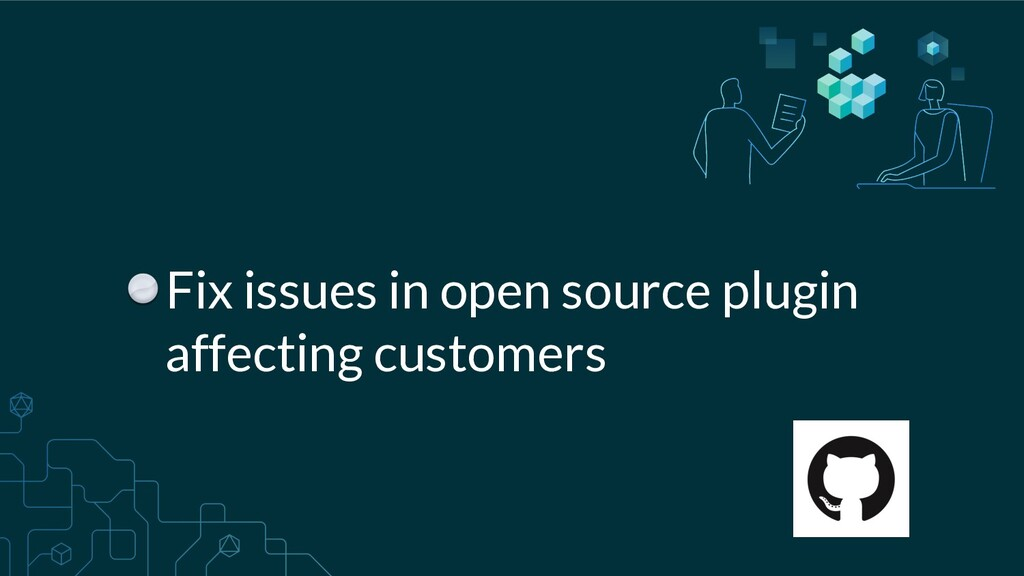 Fix issues in open source plugin affecting cust...