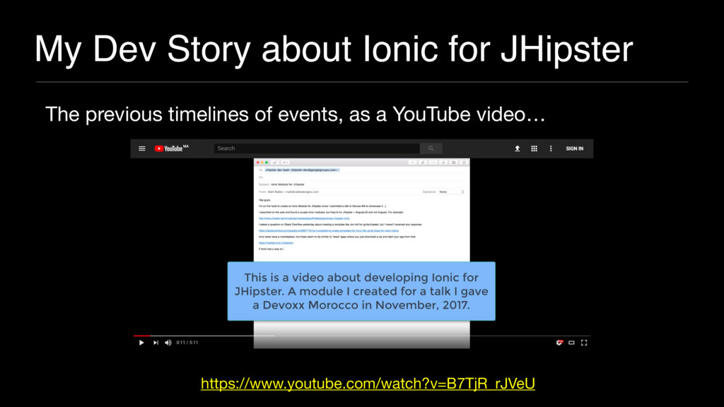 My Dev Story about Ionic for JHipster The previ...