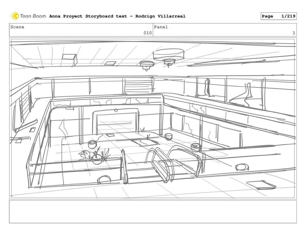 Scene 010 Panel 1 Anna Proyect Storyboard test ...