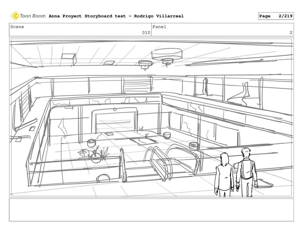 Scene 010 Panel 2 Anna Proyect Storyboard test ...
